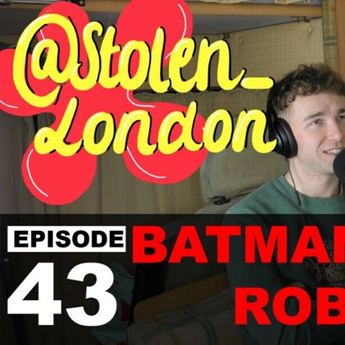 #043 Batman & Robin [Stolen Motorcycle London]
