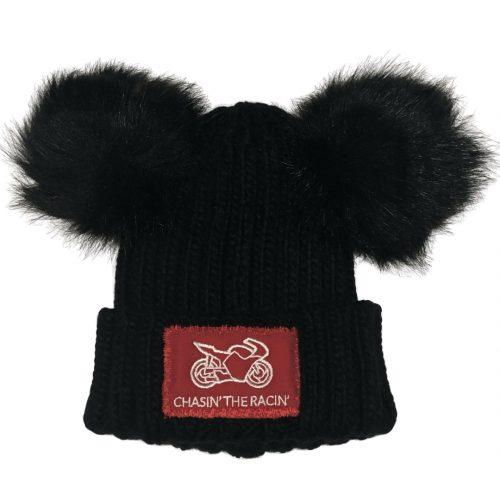 Bobble Hat (Double Pom)
