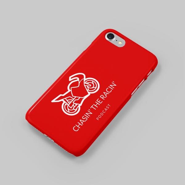 Chasin the Racin Phone Case Merchandise