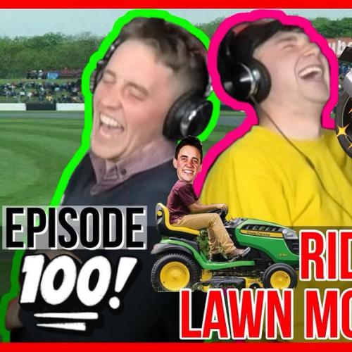 #100 Ride On Lawn Mower